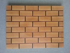 Maple and Walnut End Grain Cutting Board by OttoVonWoodcrafts, $200.00