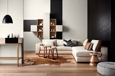 Sofa Inspiration via Simply Grove Home Design Decor, Retro Home Decor, Modern Interior Design, Interior Architecture, House Design, Modern Interiors, Scandinavian Interiors, Design Ideas, My Living Room