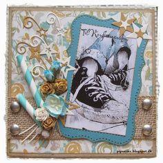 pipserier: Et par drenge Konfirmationskort. Scrapbook Cards, Scrapbooking, Masculine Cards, Kids Cards, Creative Inspiration, Quilling, Projects To Try, Paper Crafts, Young People