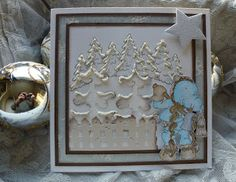 Kari Anne's hobby Marianne Design, Christmas Cards, Frame, Decor, La La Land, Christmas E Cards, Picture Frame, Xmas Cards, A Frame