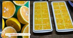 LEMON Activate Lemon's Hidden Cancer and Inflammation Fighting Powers By FREEZING Them Like This