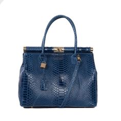 WE NOW OFFER THE LARGEST SELECTION OF THIS BIRKIN STYLE HANDBAG ANYWHERE IN THE WORLD---7 DIFFERENT FINISHES WITH 5-12 DIFFERENT COLORS EACH!!! # 480 BRAND NEW VITTORIA PACINI ITALIAN LEATHER BIRKIN STYLE HANDBAGS TO BE LISTED OVER THE NEXT FEW DAYS!! WATCH FOR NEW LISTINGS EVERY DAY! *Italian