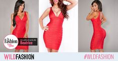 Senzuala rochie rosie esta la fel de nelipsita din garderoba fashionistelor ca little black dress. Eu vi-o recomand pe aceasta: