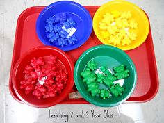Great ideas for teaching the itty bitties