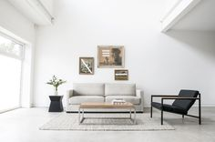 Seriously all you need in the LR Gus* Modern Richmond Sofa Home Living Room, Living Room Furniture, Living Spaces, Modern Interior Design, Interior Design Inspiration, Design Ideas, Room Inspiration, Sofas, Modern Home Furniture