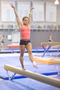 Article on getting rid of gymnastics mental blocks | Gymnastics | Gymnast