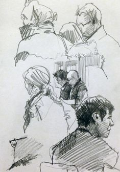 Pencil Sketches - Original artwork by davidhewittartist... #Sketchbooks #Pencil…
