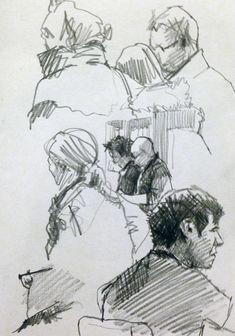 Pencil Sketches - Original artwork by davidhewittartist... #Sketchbooks #Pencil…