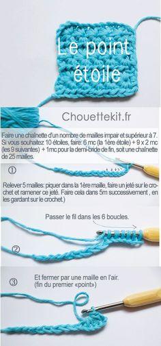 Ideas crochet stitches tutorial projects ganchillo for 2019 Crochet Baby Poncho, Plaid Crochet, Crochet Diy, Crochet Amigurumi, Crochet Quilt, Love Crochet, Irish Crochet, Crochet Motif, Crochet Stitches