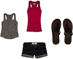"""Hollister outfit #1"" by lyngaasm on Polyvore"