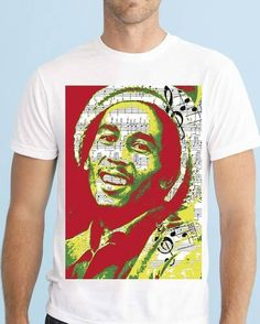 Notes Design, Bob Marley, Music Notes, Crazy Shirts, The Incredibles, Instagram Posts, Mens Tops, T Shirt, Clothes