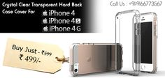 Buy Crystal Clear Transparent Hard Back Case Cover For Apple iPhone Buy Iphone, Iphone 4s, Apple Iphone, Accessories Online, Iphone Accessories, Buy Crystals, Free Classified Ads, Macbook, Cover