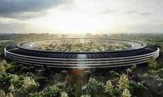 Apple Park in Cupertino, California, the company's global headquarters designed by Norman Foster + Partners