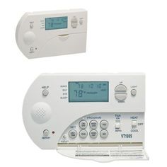 Lux PSPA711 Auto Changeover Deluxe Programmable Thermostat