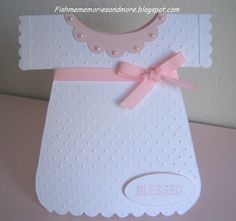 Michele's Scrappin' Memories and More...: Baptism Card