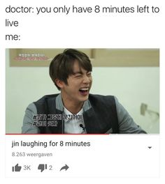 I watched it! It is a true masterpiece. His laugh is what we all schould live for