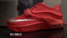 Nike KD 7 Global Game Red Sneaker HD Review With Dj Delz