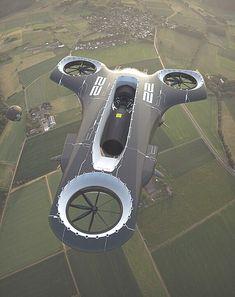 Le Manoosh : Photo on Wookmark Drones, Drone Quadcopter, Avion Drone, Le Manoosh, Flying Car, Flying Ship, Futuristic Cars, Futuristic Vehicles, Futuristic Architecture