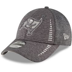 newest 06ed9 e93ab Men s Tampa Bay Buccaneers New Era Graphite Speed Shadow Tech 9FORTY  Adjustable Hat, Your Price