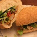 Recipes and Meal Planning. Shrimp po'boy. One pot cooking. Dinner in under 30