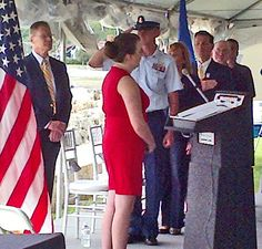 At Portsmouth Harbor Lighthouse in New Castle, New Hampshire, high school freshman Liesl Quigley brought the audience to tears with a stunning rendition of the National Anthem. New England Lighthouses, Highschool Freshman, Cape Elizabeth, New London, National Anthem, Portsmouth, New Hampshire, Newcastle, High School
