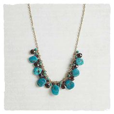 Shop Now! I found the Sleeping Beauty Necklace at http://www.arhausjewels.com/product/nc730/necklaces. $138.00 #arhausjewels #necklaces.