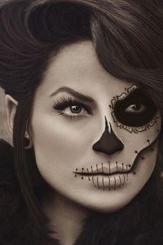 Die 202 Besten Bilder Von Fasching Make Up Outfit Halloween Makeup