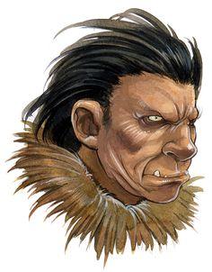Inuit Mythology Project | Portraits on Behance