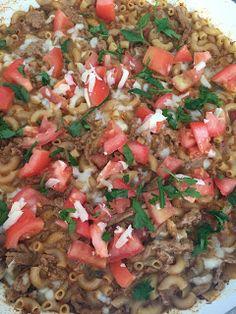 Reason's To Smile!!: Recipe Wednesday Turkey Taco Mac