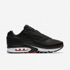 finest selection 88ffb 14041  102.13 nike air max thea black wolf grey,Nike Mens Black Bright  Crimson Wolf Grey Black Air Max BW Premium Shoe