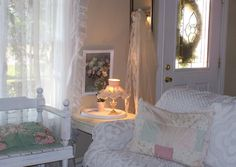 shabby chic decorating ideas | Shabby Bchic Bliving Broom listed in: chic Living Room Furniture chic ...