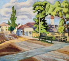 Napfényes utca, 1939: 48. aukció () 89.tétel Utca, Painting, Art, Art Background, Painting Art, Kunst, Paintings, Performing Arts, Painted Canvas