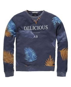 Sweater met all-over print - Scotch & Soda