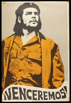 """We shall overcome, poster with Che Guevara, Made in Mexico."""" Ernesto """"Che"""" Guevara became an icon of resistance and rebellion throughout the world. Originally a doctor from Argentina, Guevara helped Fidel Castro in the guerrilla-style coup to. Communist Propaganda, Propaganda Art, Protest Posters, Political Posters, Robert Doisneau, Che Quevara, Havanna Party, Cuba, Che Guevara Images"""