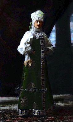 Princess Lyuba Alexandrovna Naryshkina at the Winter Palace Costume Ball of 1903.by ~VelkokneznaMaria