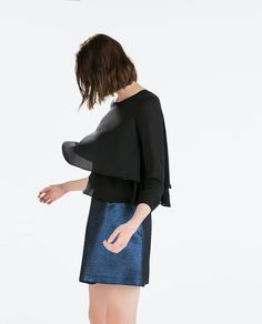 Image 3 of PLEATED SKIRT from Zara