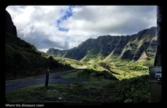Jurassic Park (actually Oahu) Swans, Jurassic Park, S Girls, Image Boards, Oahu, Hawaii, Queen, Mountains, Nature