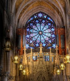 Cathedral Basilica Of The Sacred Heart, Newark, NJ, Newark, New Jersey - This basilica is absolutely gorgeous it is in downtown newark next to brookdale park