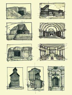 Interesting Find A Career In Architecture Ideas. Admirable Find A Career In Architecture Ideas. Moleskine, Art Et Architecture, Installation Architecture, Sketchbook Pages, Sketchbook Assignments, Thumbnail Sketches, Model Sketch, Figure Drawing Reference, Drawing Sketches