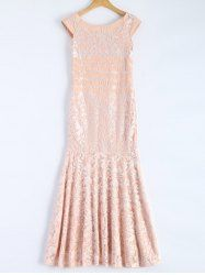 SHARE & Get it FREE | Maxi Lace Slash Neck Cap Sleeve Prom DressFor Fashion Lovers only:80,000+ Items • New Arrivals Daily • Affordable Casual to Chic for Every Occasion Join Sammydress: Get YOUR $50 NOW!