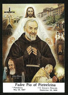 """Do you think the Lord gave them to me for a decoration?"" St. ""Padre"" Pio of Pietrelcina (when asked if the stigmata were painful)"