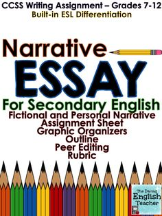 Violence In The Media Essay Narrative Essay Ccss Aligned  Grades  Th Grade Englishmiddle School   Essay Topics For Pride And Prejudice also Ideas For Descriptive Essay How To Write And Organize A Cause And Effect Essay  Secondary  Best Short Essays