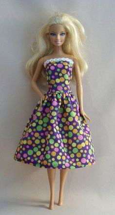 Handmade Barbie Doll Clothes Lavender with by PersnicketyGrandma, $4.00