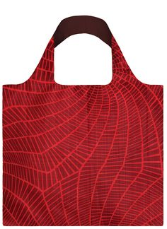 Tote bag, Elements Fire - LOQI #shopper #reusable #graphicpattern #boodschappentas #abodeeloqibags