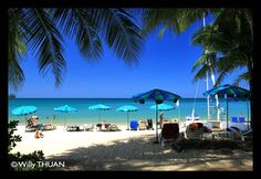 The northern end of Kamala Beach, less visited and more relax.  http://phuket101.net/2011/05/kamala-beach.html