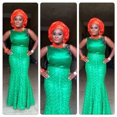 Delightful , Ravishing and Eye-Popping Aso-Ebi Styles | Wedding Digest Naija