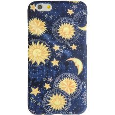 Sun and Moons iPhone 6 Case ($20) ❤ liked on Polyvore featuring accessories and tech accessories
