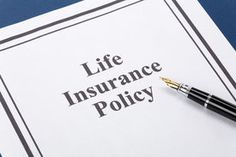 picture of life insurance - Document of Life Insurance Policy for background - JPG