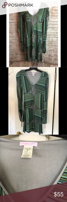Custo Barcelona dress Custo Barcelona balloon long sleeved geometric dress. Size: 2. In good used condition. Please look at photos for signs of wear and tear. Custo Barcelona Dresses Long Sleeve