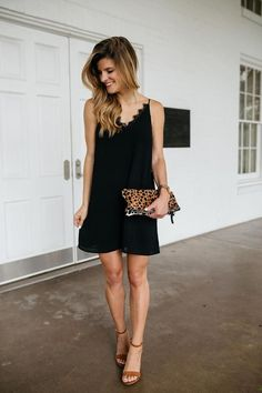 19302e1c5b3b All About My Hair Extensions + The Perfect Black Slip Dress